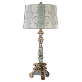 Uttermost Trimonte 1-light Dark Grey Table Lamp