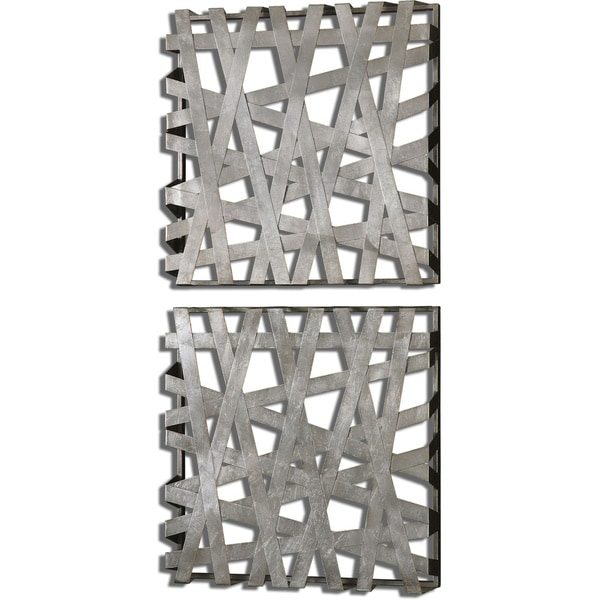 Uttermost Alita Squares Wall Art Set Of 2 Free Shipping Today