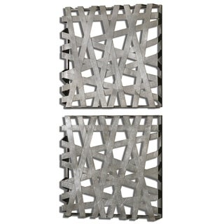 Uttermost Alita Squares Wall Art (Set of 2)