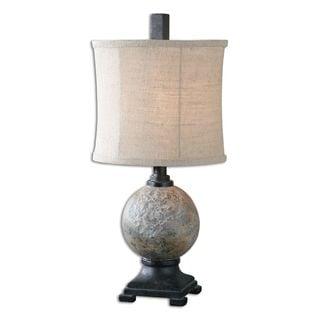 Uttermost Calvene Concrete Ball Table Lamp