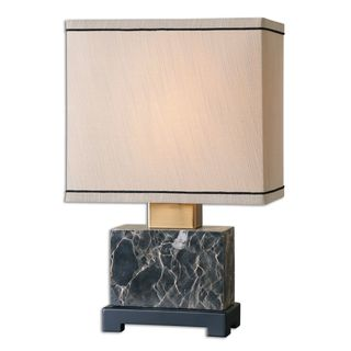 Uttermost Anadell Beige Polished Marble Table Lamp