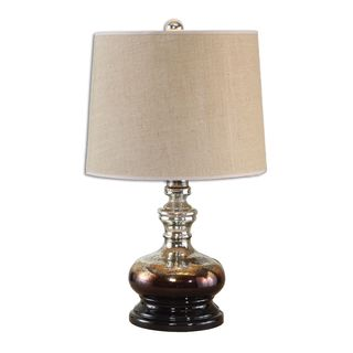 Uttermost Casorzo 1-light Antiqued Ombre Mercury Glass Table Lamp