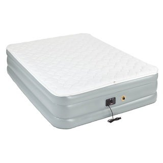 Coleman Camping Queen Double High Pillow-Top Air Bed Mattress