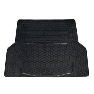 FH Group Black Semi Custom Trimmable Vinyl Trunk Cargo Mat