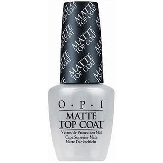 OPI Matte Top Coat Nail Lacquer
