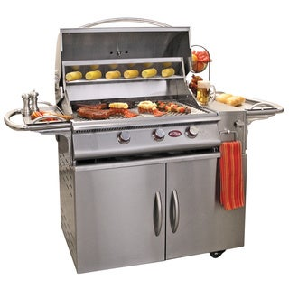 Cal Flame Gourmet Series 3-burner Gas Grill with Double Access Doors