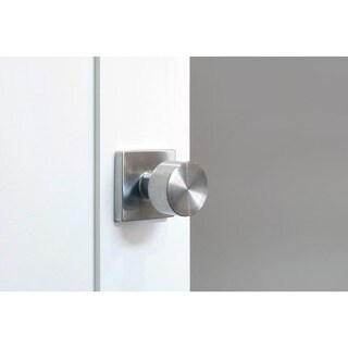 Sure-Loc Bergen Stainless Steel Square Door Knob (2 options available)