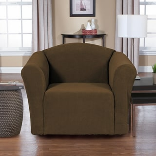 QuickCover Dimples 1-piece Stretch Chair Slipcover