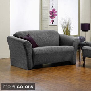 QuickCover Fresca One Piece Stretch Loveseat Slipcover