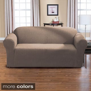 Dimples One Piece Stretch Sofa Slipcover