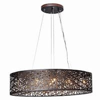 Inca 9-light Linear Pendant