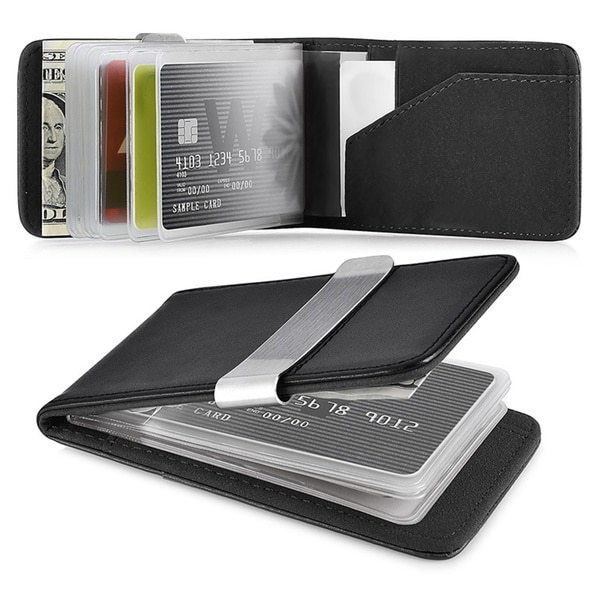 Shop zodaca genuine 100 percent leather money clip wallet with extra zodaca genuine 100 percent leather money clip wallet with extra business card credit card colourmoves