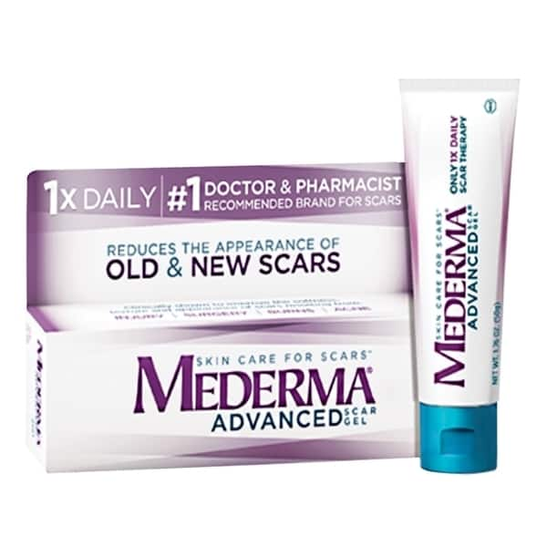 Shop Mederma Advanced 1 76 Ounce Scar Gel Overstock 9722187