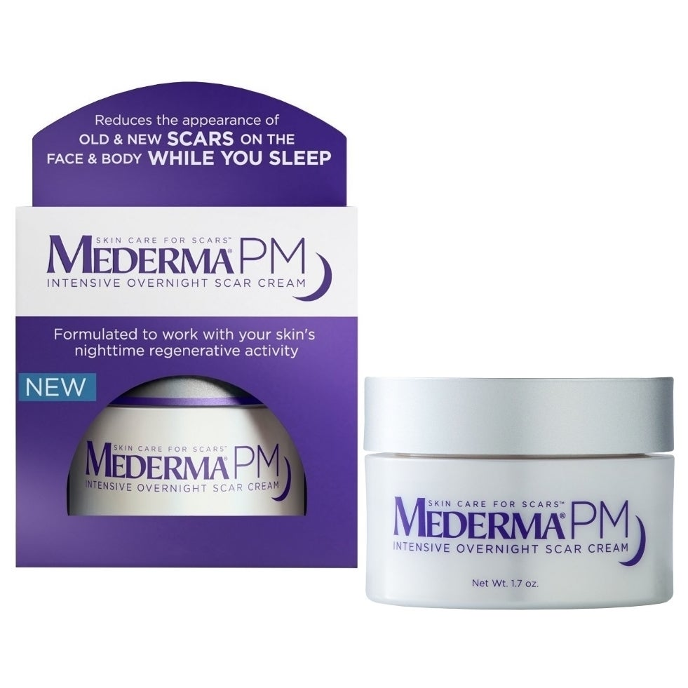 Shop Mederma Pm Intensive Overnight 1 7 Ounce Scar Cream