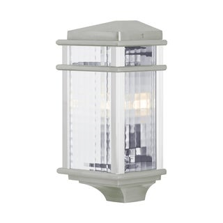 Feiss 1 - Light Wall Lantern, Brushed Aluminum