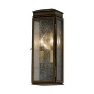 2 -light Whitaker Wall Lantern in Astral Bronze