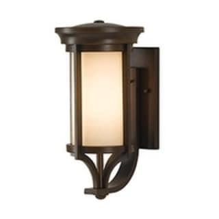 Single-light Whitaker Wall Lantern in Heritage Bronze