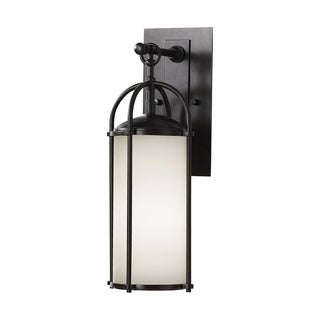 Feiss Dakota 1-light Espresso Wall Lantern