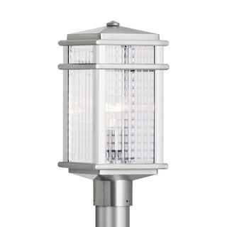 Feiss 1 - Light Post, Brushed Aluminum