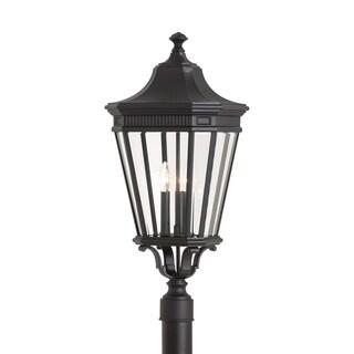 Feiss 3 - Light Post, Black