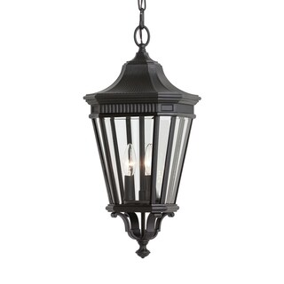 Feiss 3 - Light Pendant, Black