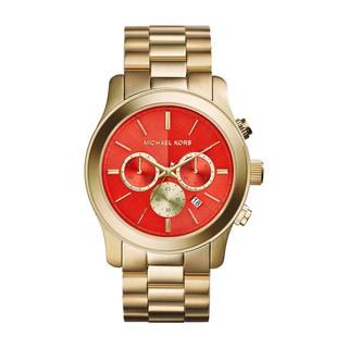 Michael Kors Women's MK5930 Runway Gold Tone Ion Plated Steel Watch
