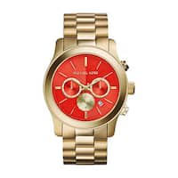 Michael Kors Women's MK5930 Runway Gold Tone Ion Plated Steel Watch