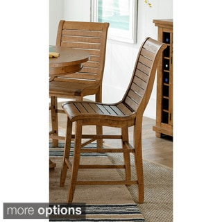 Willow Distressed Pine Dining Chairs (Set of 2)