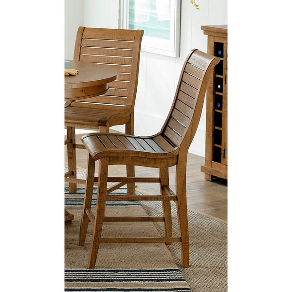 willow distressed pine dining chairs set of 2 free shipping today