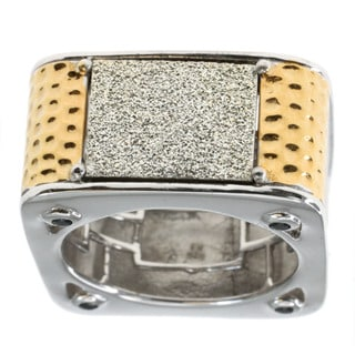 Michael Valitutti Druzy and Sapphire Men's Ring