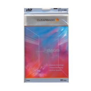 ClearBags IMPACT Translucent Colored Plastic Envelopes (Pack of 4)