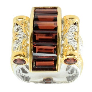 Michael Valitutti Mozambique Garnet Ring