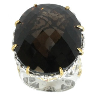 Michael Valitutti Smokey Quartz Ring