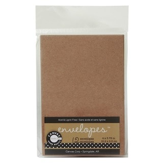 Canvas Corp Packaged Envelopes (Set of 12, 4 packs)