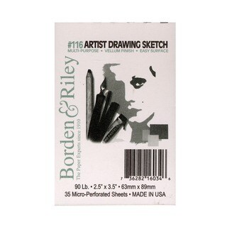 Borden & Riley #116 Artist Drawing/Sketch Vellum Pads