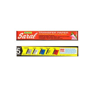 Saral Transfer (Tracing) Paper (Option: 12 1/2 in. x 12 ft. roll - Yellow)