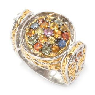 Michael Valitutti Multi Sapphire Flip Ring