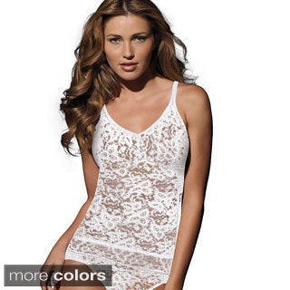 Bali Lace 'N Smooth Camisole Top