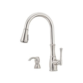 Pfister Wheaton Pull-down Kitchen Faucet Stainless