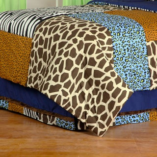 Jazzie Jungle Boy Twin Bed Skirt