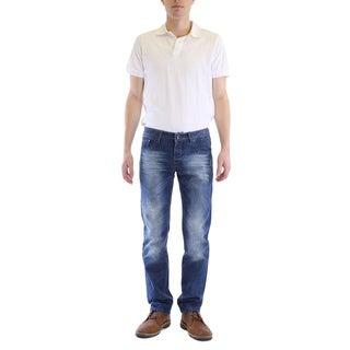 Dinamit Jeans Men's Classic Slim Straight Leg Jeans
