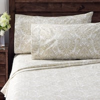 Geneva Paisley Percale Cotton Rich Sheet Set
