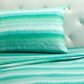 Malibu Stripe Printed Sheet Set