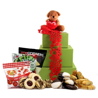 Beary Sweet Valentine's Day Large Gift Tower