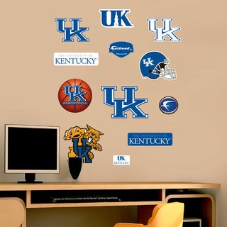 Fathead Jr. Kentucky Wildcats Logo Vinyl Wall Decals