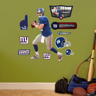 Fathead Jr. Eli Manning/ New York Giants Vinyl Wall Decals