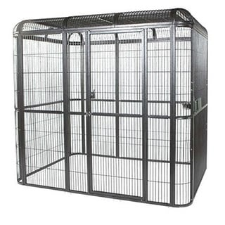 A & E Cage Co. 110 x 62-inch Walk-In Bird Aviary