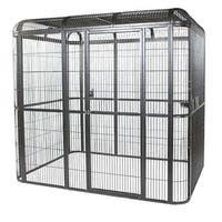 A & E Cage Co. 110 x 62-inch Walk-In Aviary