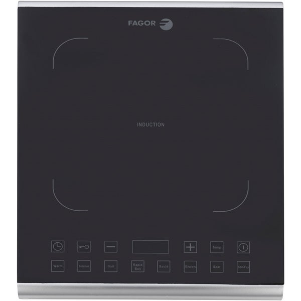 Fagor America Induction Pro Stainless Steel/ Glass Portable Cooktop   Free  Shipping Today   Overstock.com   16897769