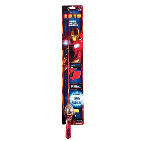 Iron Man Lighted Fishing Kit